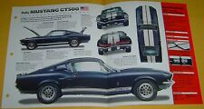 1967 Ford Mustang Shelby Fastback GT500 428 ci 355 hp IMP info/Specs/photo 15x9