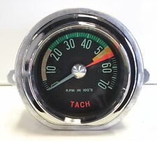 1961-1962 New Corvette Tachometer 5300 Redline Electronic Conversion Tach