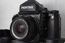 """EXC++"" Pentax 67II Film Camera + SMC P 90mm f/2.8 Lens from Japan #2147"