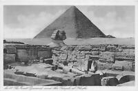 br106552 great pyramid and temple of khufa cairo egypt africa types folklore