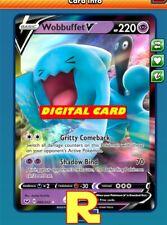 Wobbuffet V - Regular Art - for Pokemon TCG Online (DIGITAL ptcgo in Game Card)