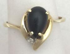 Joyería negro natural diamante