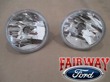 07 thru 10 Escape Mariner OEM Ford Fog Driving Lamps Lights - PAIR of 2 w/ Bulbs