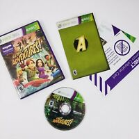 Kinect Adventures Game (Microsoft Xbox 360, 2010) Very Good - Complete