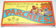 RARE 1917 PARCHEESI BOARD GAME CANADA GAME CO. LIMITED--IN A CANADIAN MUSEUM