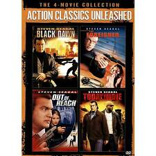 Action Classics Unleashed: The 4-Movie Collection - Steven Seagal DVD 2-Disc Set
