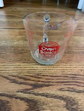 Vintage Anchor Hocking Oven Basics #498 16 oz./ 2 Cup Measuring Cup