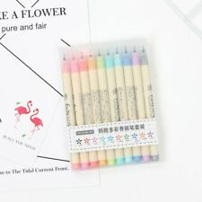 10pcs Fabricolor Colorful Calligraphy Marker Brush Pen Chinese Drawing Art Cute