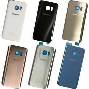 Replacement Samsung Galaxy S7 / S7 Edge Back Rear Battery Cover with Adhesive
