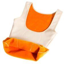 Lady Fleece Lined Thermal Vest Underwear Warm Sleeveless Waistcoat Slim Tank Top