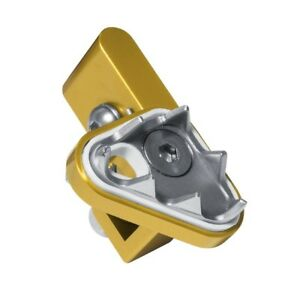 APICO BRAKE PEDAL LEVER TIP REPLACEMENT END YELLOW YZ, YZF, CR, CRF, KX, KXF, RM