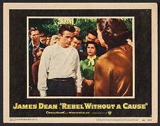 """Poster Lobby Card Rebel without a Cause 1955 11""""x14"""" VF 7.5 James Dean"""