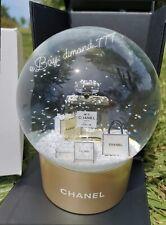‼️SUPER SALE❄️🎄Brand New CHANEL No5 Perfume Luxury Snow Globe Vip Gift🎄❄️
