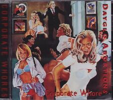 Dayglo Abortions - Corporate Whores CD - New / Sealed (2016) Hardcore Punk