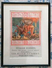 More details for antique advertising - 1882 calendar - tea dealer - framed and glazed (c)