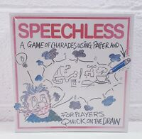 Speechless Charades Board Game Family Fun 4-16 Players Brand New Sealed