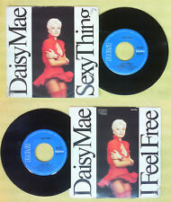 LP 45 7'' DAISY MAE Sexy thing I feel free 1987 italy RCA PB 41579 no cd mc dvd