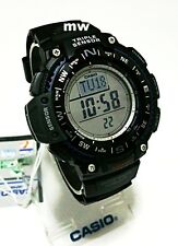 CASIO Alti/Baro/Thermometer Compass World Time SGW1000-1A Men's Watch Authentic