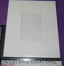STAMPIN UP GESSO PICTURE FRAME PAINT STAMP NIP 4 1/2 X 6 1/2 GESSOED ART BOARD
