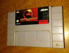 MORTAL KOMBAT (SUPER NINTENDO, SNES, 1993) Cartridge