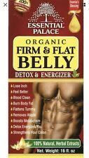Organic Firm & Flat Belly Detox & Energizer 16 oz. Burn Body Fat & Remove Waste