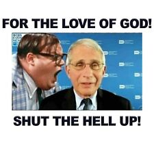 Conservative FAUCI FARLEY FOR THE LOVE OF GOD SHUT UP Political Shirt