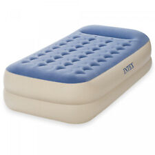 Inflatable Bed Twin 18 Dura Beam Intex Raised Pillow Rest Airbed Mattress
