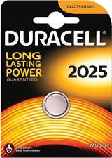 Duracell DL2025 - Blister 1 Pila Boton 3V-165 Mah-Dl.2025 Pack de 5 Unidadeds