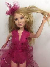 Vtg. Mary Kate & Ashley Olsen Doll 2001 Mattel Custom Sparkly Bling Dress 26cm