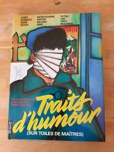 Traits d'humour sur toiles de maîtres - Collectif - Denoël (illustration/humour)