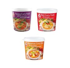 Nouveau 3er Set cock : Masman - Panang - Rouge - Thai Curry Pâte 3 X 400g