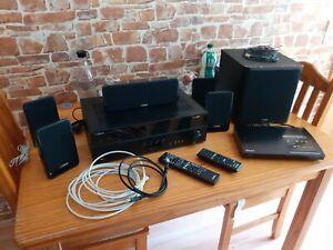 Heimkino System 5.1 YAMAHA,5 Boxen  und Subwoofer, ohne Blu-ruy Player