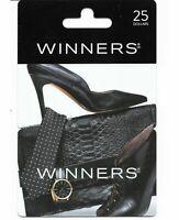 1+ collectible gift card Canada WINNERS HOMESENSE MARSHALLS tie shoe bag watch