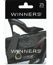 1+ collectible gift card Canada WINNERS HOMESENSE MARSHALLS tie shoe bag watch