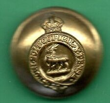 ROYAL WARWICKSHIRE REGT SMALL OTHER RANKS BRASS BUTTON WWII PATTERN