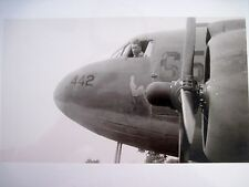 Good Quality Photograph of WWII Nose Art on WWII Airplanes in Black & White *