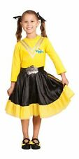 THE WIGGLES- YELLOW EMMA WIGGLE Deluxe Dress Up Character Costume Size1-3Toddler