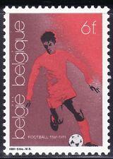 SELLOS DEPORTES FUTBOL. BELGICA 1981 2014 1v.