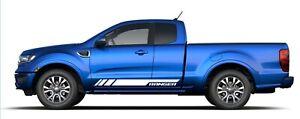 2020 Ford Ranger Stripes Decals RAPID Side Door Body 3M Vinyl Graphics Kit