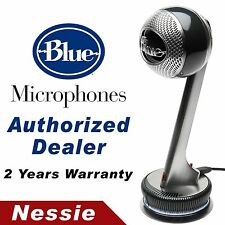 Blue Nessie Adaptive Plug n' Play USB Microphone with Pop Filter & Shock Mount