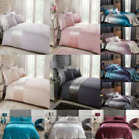 Velvet Duvet Cover Set Single Double Super King Luxury Bedding Set Quilt Cover