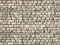 NOCH 57750 Mauerplatte 'Sandstein', 64 x 15 cm Spur H0, TT