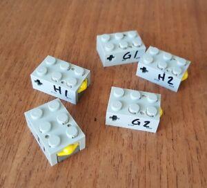 Lego Mindstorms RCX Touch Sensor Technic Robot 879 Robotic Finger Lot of 5