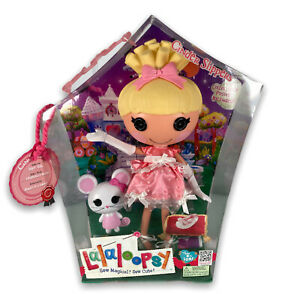 Lalaloopsy Cinder Slippers Doll Large, New In Box. Now Discontinued.