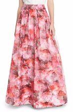 Eliza J Floral Organza Ball Skirt (Size 6)