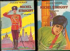 JULES VERNE MICHEL STROGOFF COLLECTION HACHETTE HENRI FAIVRE LIVRE JEUNESSE 1951