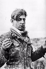 WW2 - SS Panzergrenadier de la Hitlerjugend blessé et prisonnier à Carpiquet