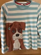 Child's John Lewis Boxer Dog T-shirt Long-sleeved Pure Cotton Aged 7-8 BNWOT
