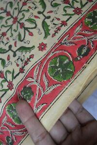 Print_1220 Cotton Fabric Women Dress Fabric Material Indian Hand-Block 10 Yard