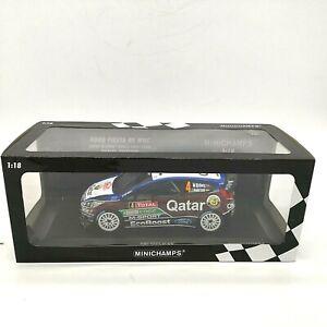 Minichamps Ford Fiesta RS WRC Limited Edition Qatar M-Sport 2013 1 / 504 - 1:18